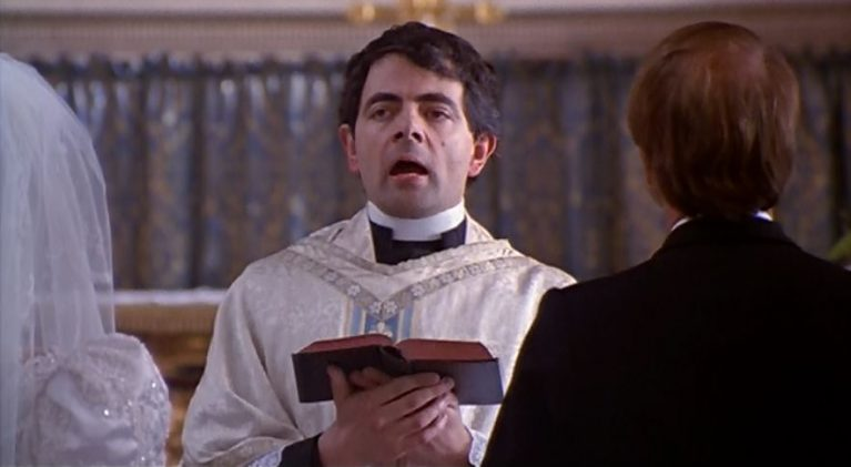 Rowan Atkinson returns to the pulpit in BBC Radio 4 comedy, #Godswork