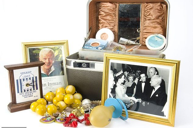 Mr. Humphries may have been 'free,' but John Inman's memorabilia goes up for auction