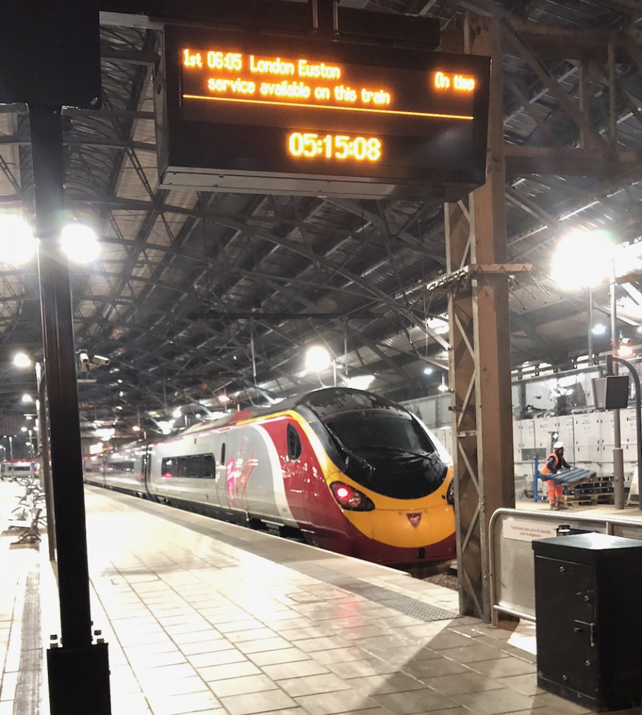 Liverpool Lime Street Station (Photo courtesy: Bill Young)
