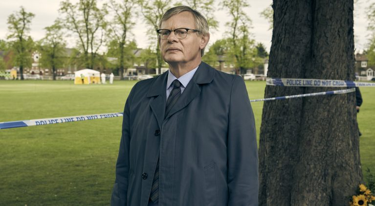 Martin Clunes as DCI Colin Sutton. Photo courtesy: ITV/AcornTV
