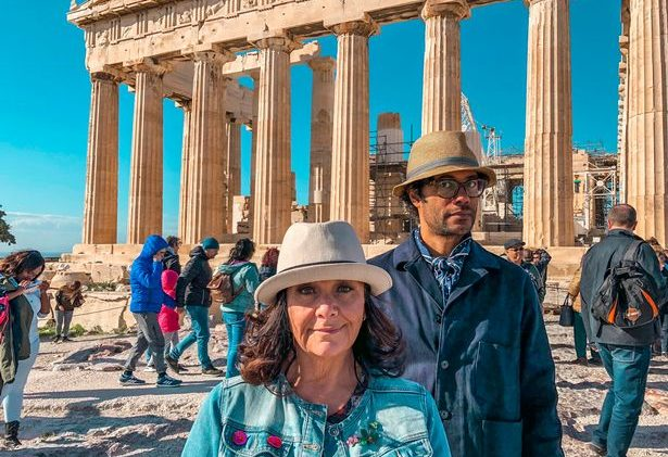 Richard Ayoade and Dawn French head to Athens in 'Travel Man: 48 Hours In …'