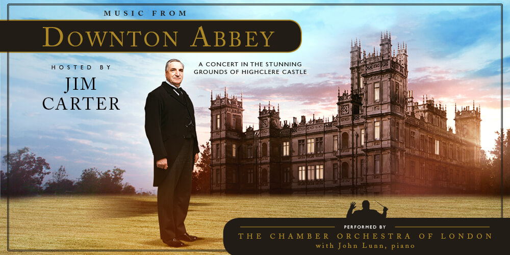 Music from Downton Abbey poster