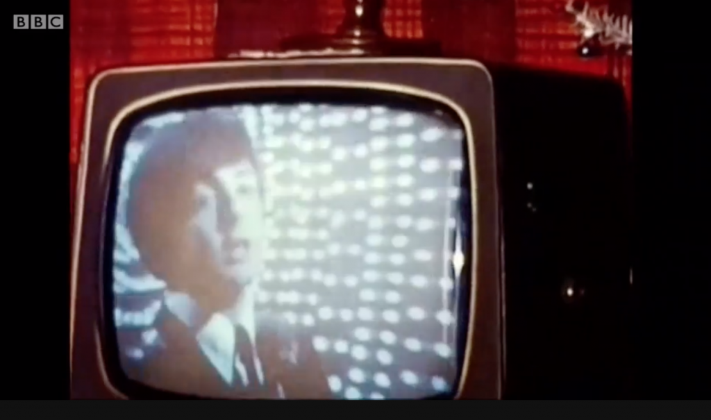 Screenshot of the found Beatles footage from BBC's 'Top of the Pops.'
