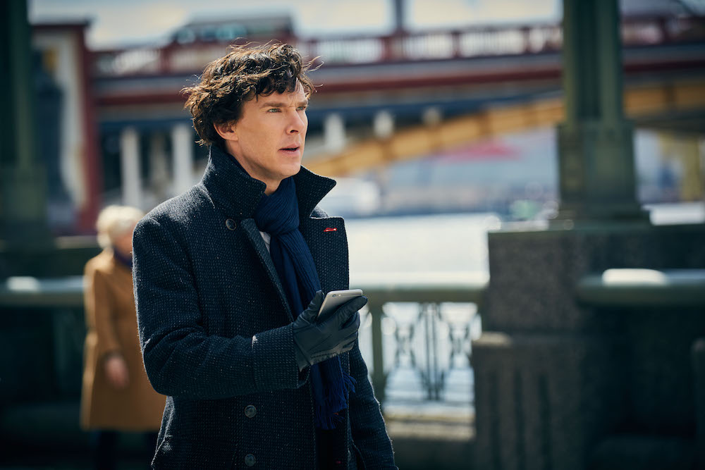 Benedict Cumberbatch as Sherlock Holmes. Photo courtesy: Hartswood Films; PBS Masterpiece