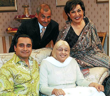 A pre-'Unforgotten' Sanjeev Bhaskar in 'The Kumars at No 42'