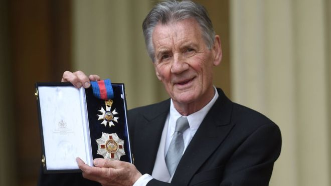 Michael Palin, of the Knights Who Say 'Ni,' is now the real Sir Michael Palin!
