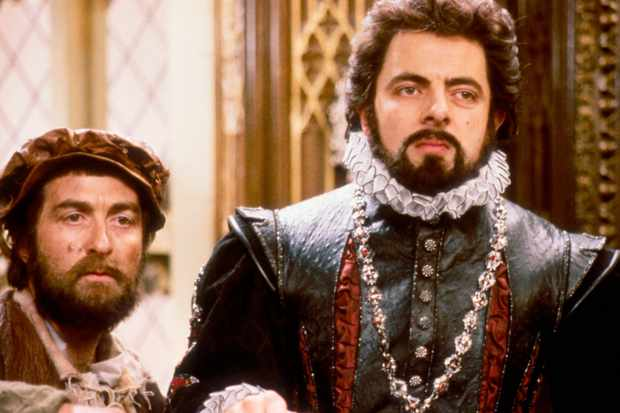 Could Edmund Blackadder be the new 'get off my lawn' guy?