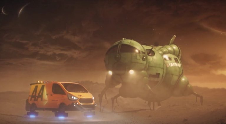Smeg! The AA executes a 'Stellar Rescue' of Red Dwarf's Starbug on desolate alien planet!