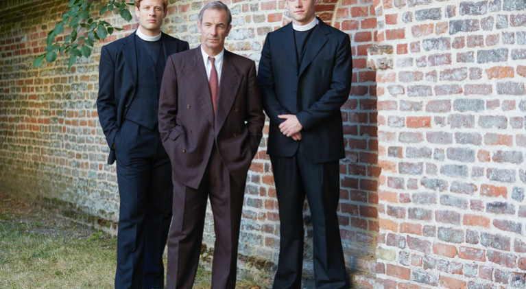 As BBC viewers get return of 'Poldark', PBS viewers get return of 'Grantchester' on July 14!