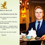"The 'Defender of Etiquette', Grant W.V. Harrold, kicks off ""Afternoon Tea Week"""