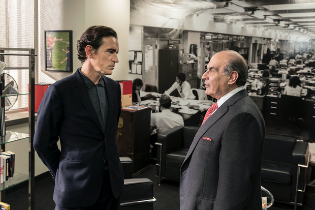 'Press' pits the sensational (tabloid) vs. the serious (broadsheet) in upcoming PBS Masterpiece