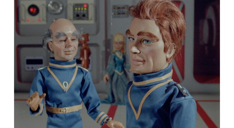 Go behind-the-scenes with a 'Supermarionation' Endeavour