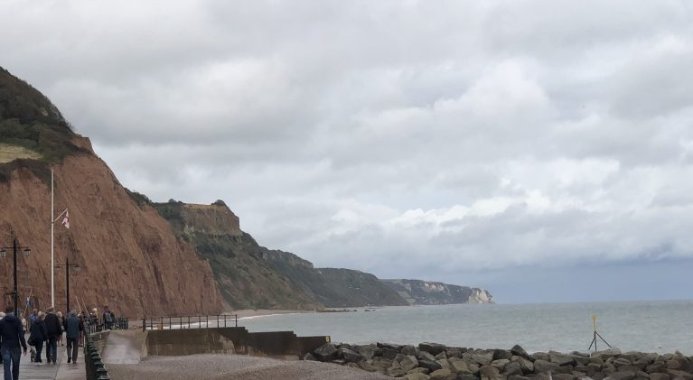 A brief stop for ice cream in Sidmouth, a night with Lady Grey and then it's on to Hampton Court Palace….