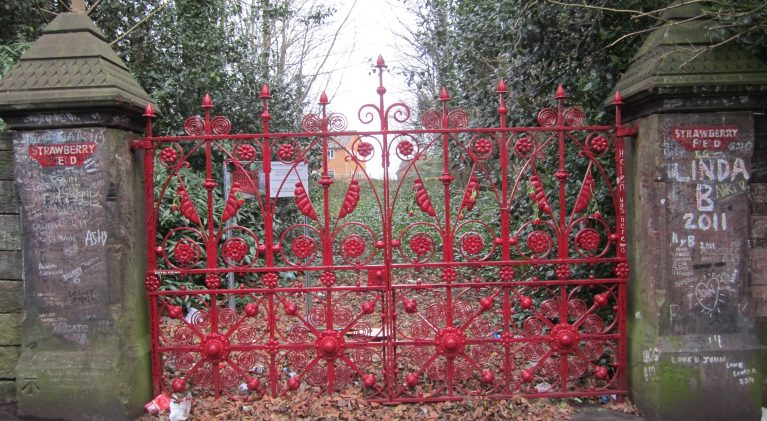 Strawberry Field gates re-open to the delight of Beatles fans worldwide