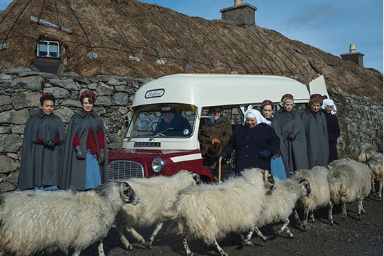 The nuns of 'Call the Midwife' are headed to Scotland for Christmas Day return.