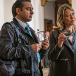 With rucksack in tow, 'Unforgotten' begins 4th series filming