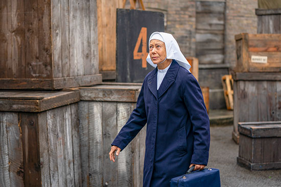 #COVID-19 delays production of 'Call the Midwife' S10