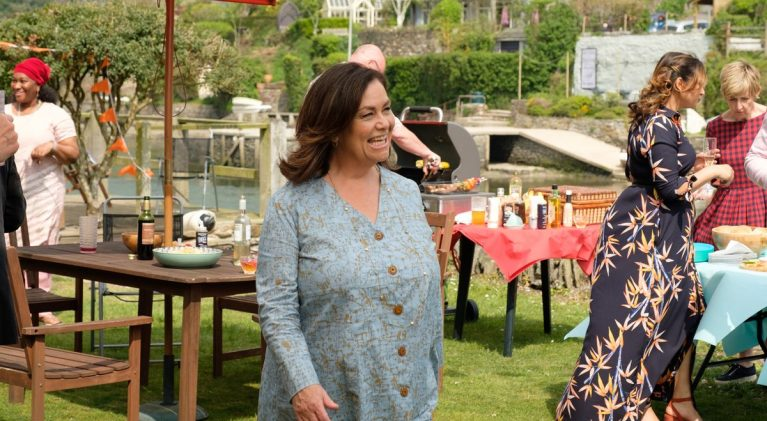 Dawn French proves booze and gossip don't mix well in 'The Trouble with Maggie Cole' on PBS