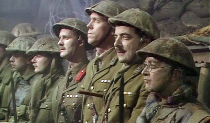 Friday Funny — Baldrick's cunning plan to survive WWI