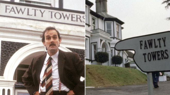 Happy belated 45th, 'Fawlty Towers'!