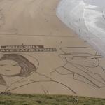 Sanditon Sisterhood turns it up to 11 with epic Brean Beach sand art effort!