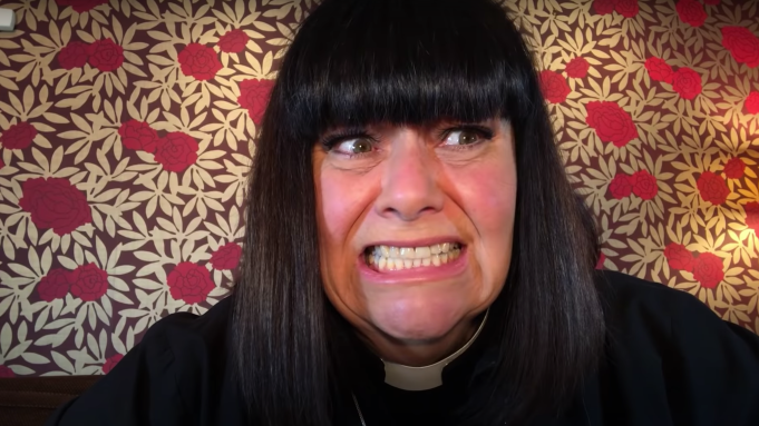 2020 looking a bit better with 'The Vicar of Dibley in Lockdown' on the holiday horizon!