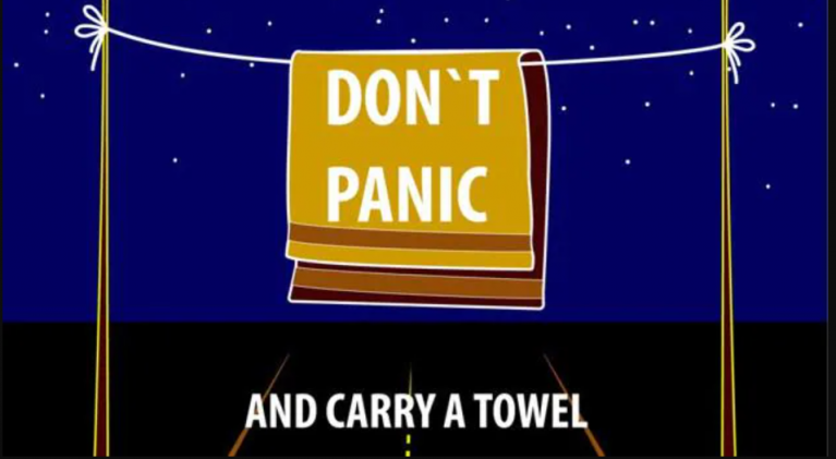 International Towel Day 2021 — The 20th anniversary of a day like any other day….or, not!